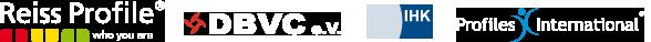 Zertifiziert für: Reiss Profile Master, DBVC, IHK, Profiles International